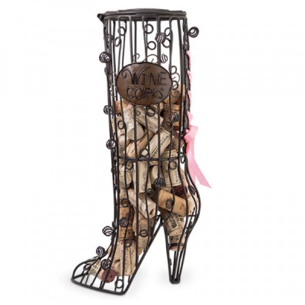 Cork Cage Stiletto Boot