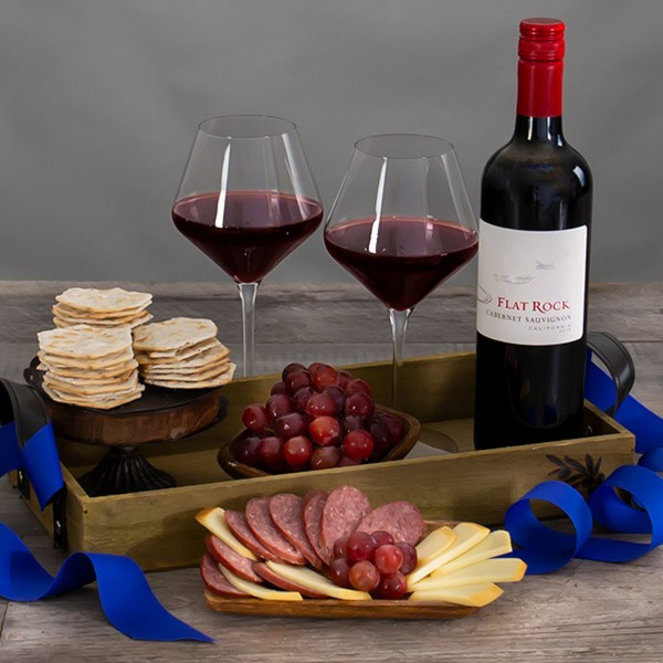 COUNTRYSIDE CABERNET RED WINE GIFT BASKET