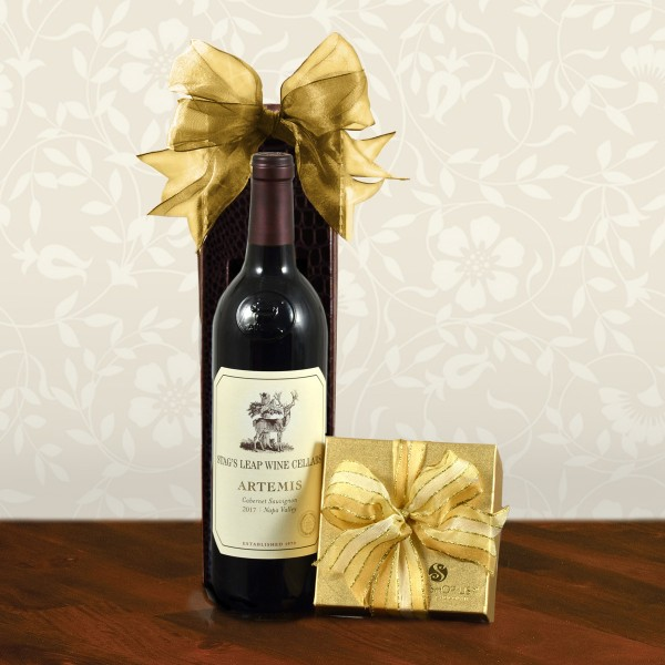 Stag's Leap Artemis Cab Sauv & Truffles Gift Box