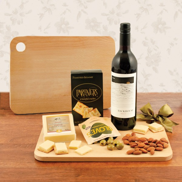 Wine and Cheese Board Gift