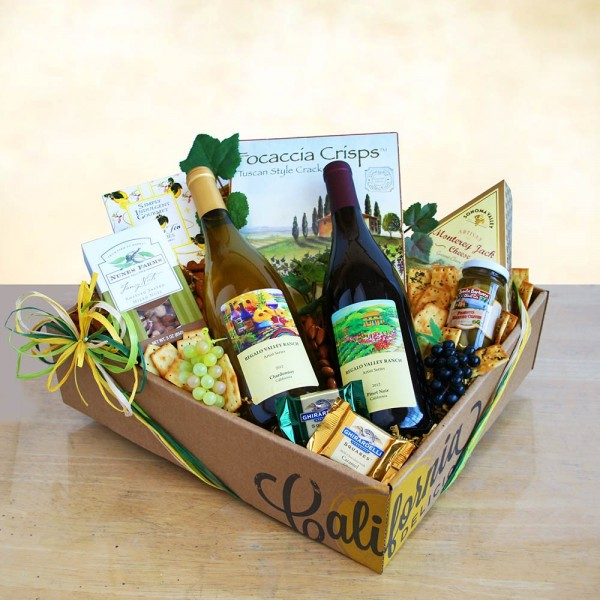Best of California Vines Gift Basket