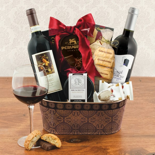 Tuscan Wine Duo Gift Basket