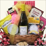 SCRUMPTIOUS!: WINE & SPA GIFT BASKET
