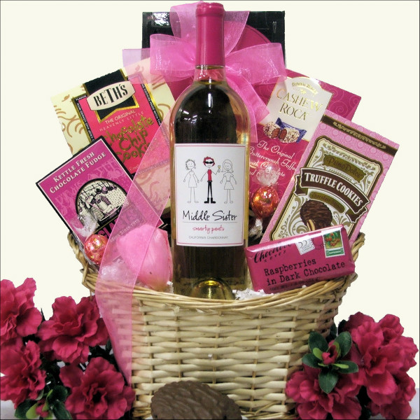 MIDDLE SISTER: WINE GIFT BASKET