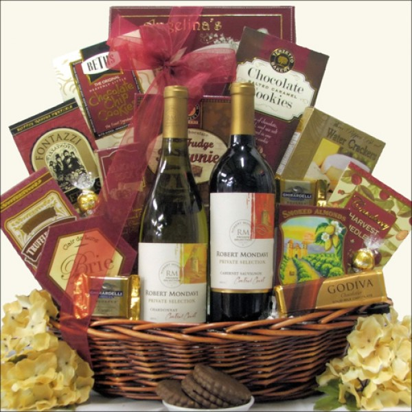 ROBERT MONDAVI PRIVATE SELECTION CLASSIC SERIES DUET: WINE GIFT BASKET