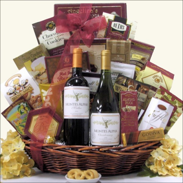 THE ALPHAS: WINE GIFT BASKET