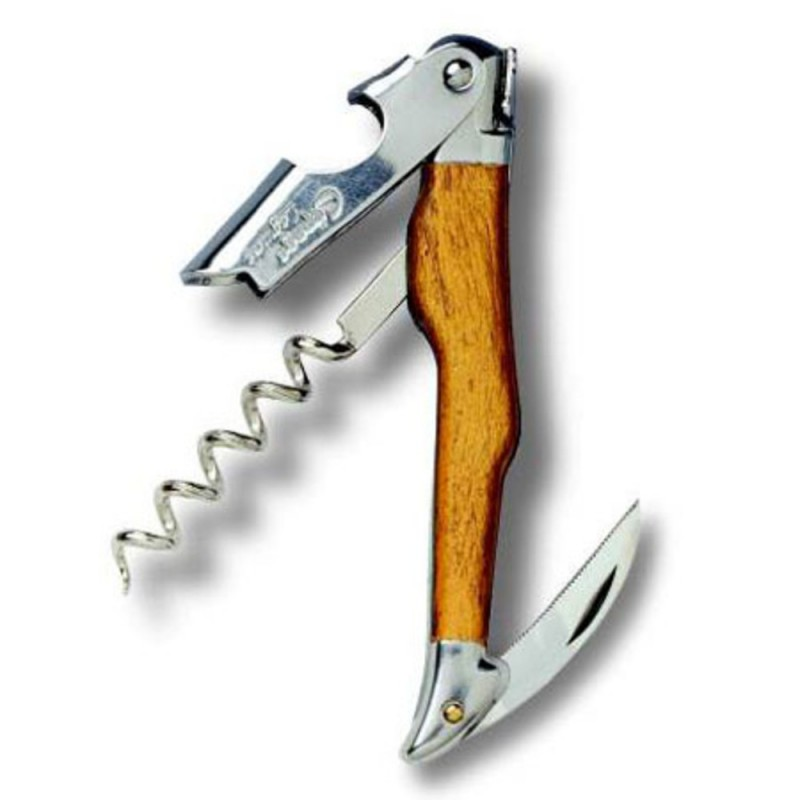 Cepage Laguiole Waiters Corkscrew Olive Wood