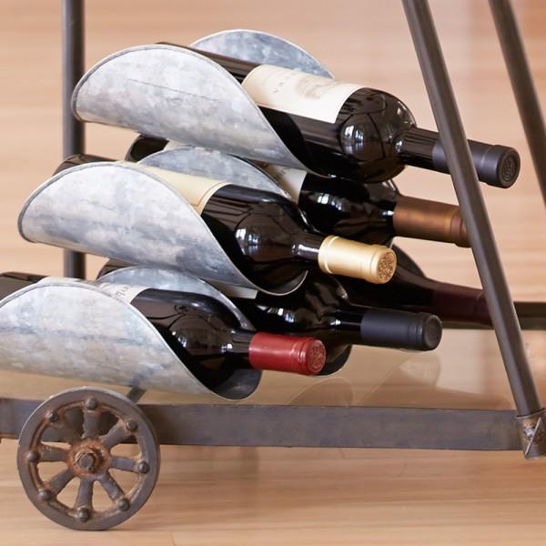 Iron 6 Bottle Wine Rack
