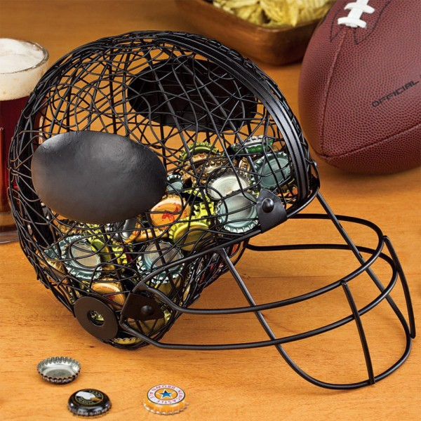 Football Helmet Bottle Cap Cage