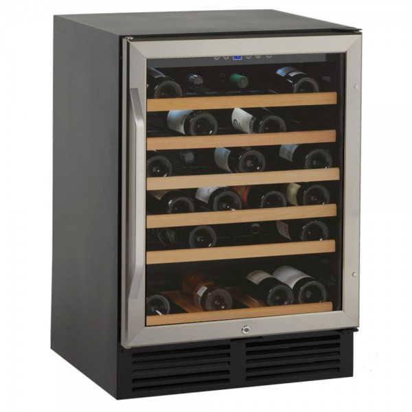 Avanti 50-Bottle Wine Cellar w/ Wood Trim