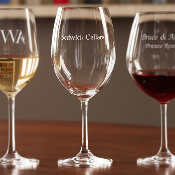 Personalized Stemware Bordeaux