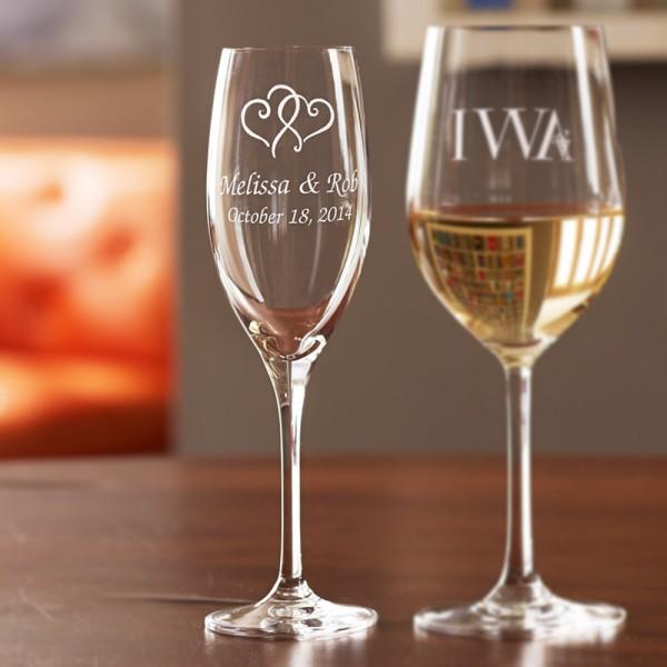 Personalized Stemware Champagne Flute