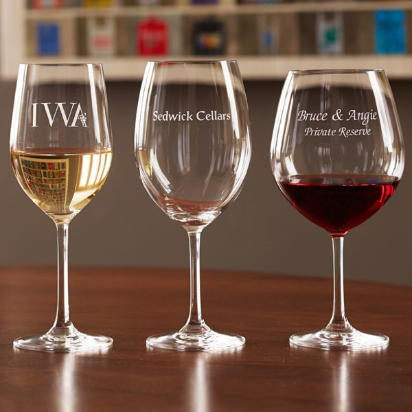 Personalized Stemware Tasting Set - 6 Stems