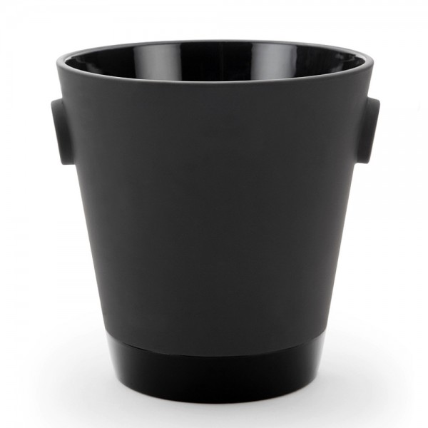 Black Terra Cotta Ice Bucket