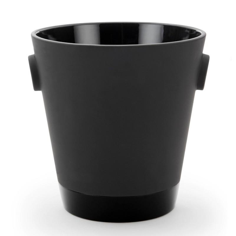 Black Terra Cotta Ice Bucket
