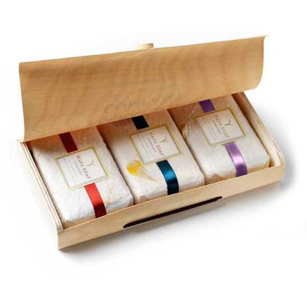 Napa Soap Boxed Gift Set Red