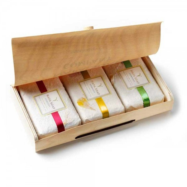 Napa Soap Boxed Gift Set White