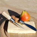 Cork Cheese Knives Set of 2, #16588