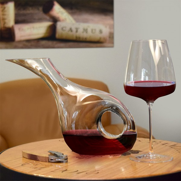 Pasabahce Duck Decanter