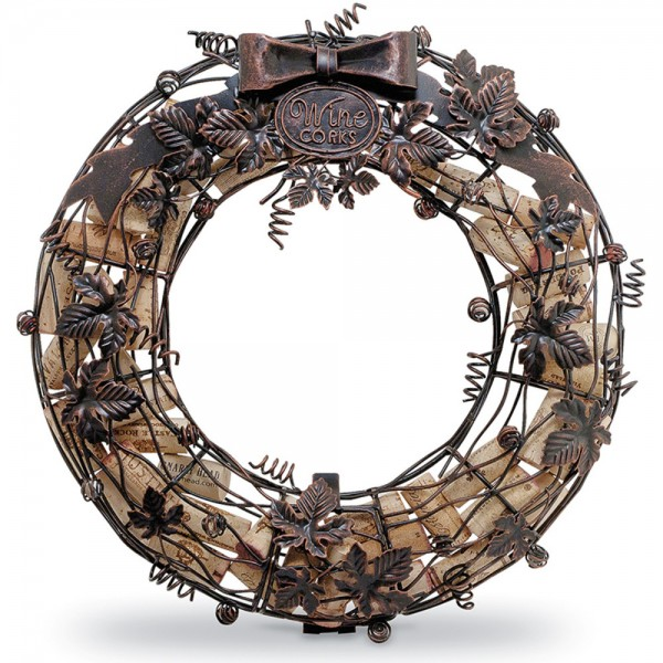 Cork Cage Wreath