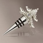 Platinum Pagoda LObjet Bottle Stopper