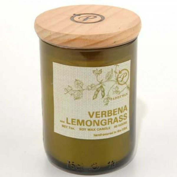 Eco-Candle In Bottle, Verbena & Lemongrass