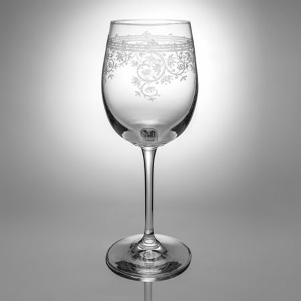 Lucca White Wine Glasses 6 Stems
