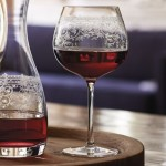 Lucca Burgundy Glasses 6 Stems