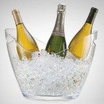 Vino Gondola Wine Cooler Clear