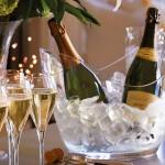Vino Gondola Wine Cooler Clear