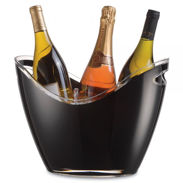 Vino Gondola Wine Cooler Black