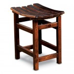 Barrel Stave Tasting Stool