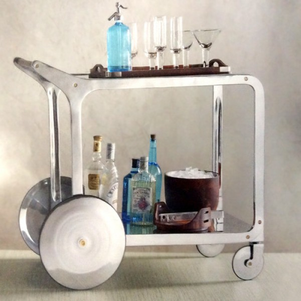Cirque Bar Cart