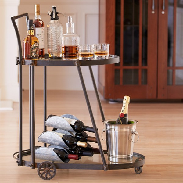 Victoria Station Bar Cart