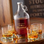 Personalized Distillery Growler Set