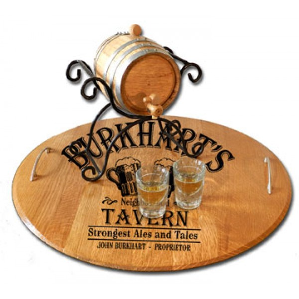 'Tavern' Personalized Serving Tray