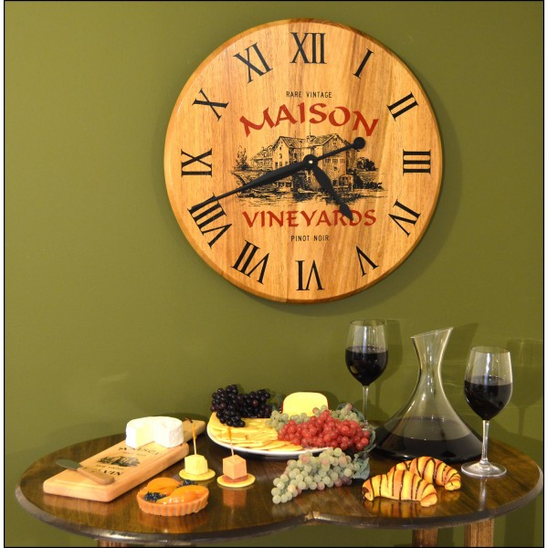 Maison Personalized Clock