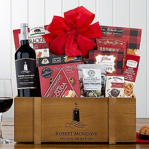 ROBERT MONDAVI PRIVATE SELECTION CABERNET: WINE GIFT BASKET