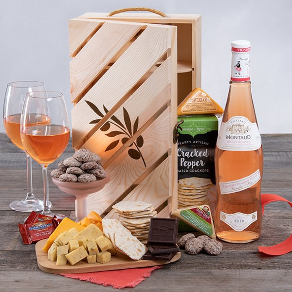 ROSE ALL DAY WINE CRATE