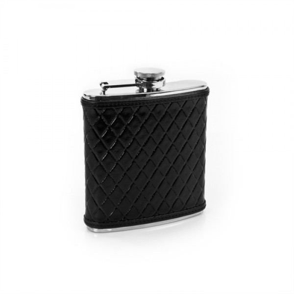 Knightsbridge: Leather Flask