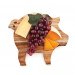 Rustic Farmhouse: Pig Cheese Board