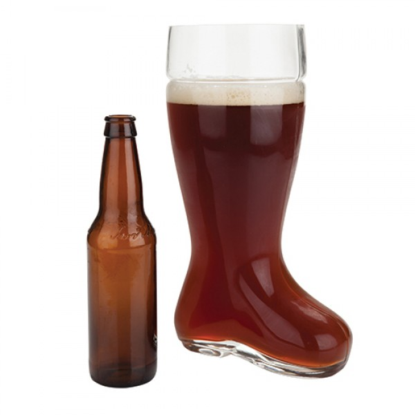 Das Bier Boot: 2 Liter Beer Glass