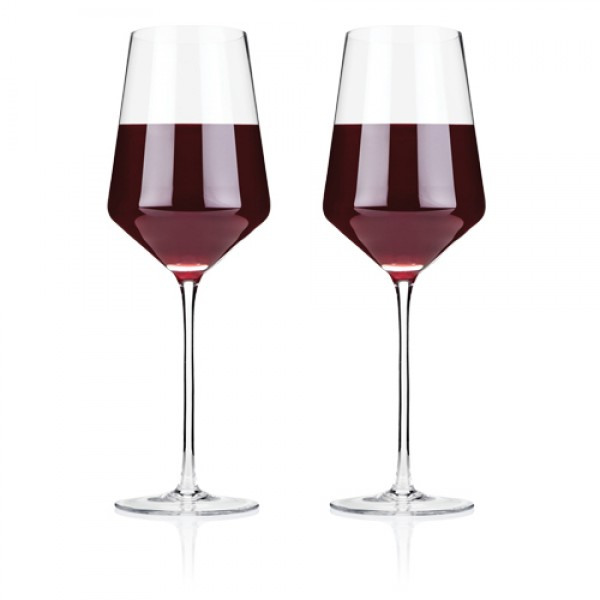 Raye - Crystal Bordeaux Glass Set