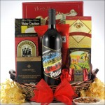 THE POLICE SYNCHRONICITY RED WINE BLEND: ROCK & ROLL WINE GIFT BASKET