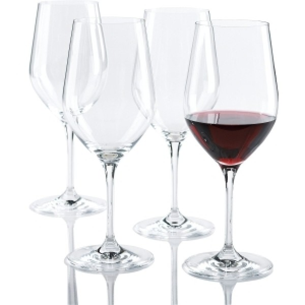 Wine Enthusiast Fusion Classic Cabernet/Merlot/Bordeaux Wine Glasses - 21 oz - 4 / Set