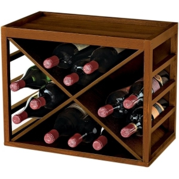 12 Bottle X Cubestack Wine Rack