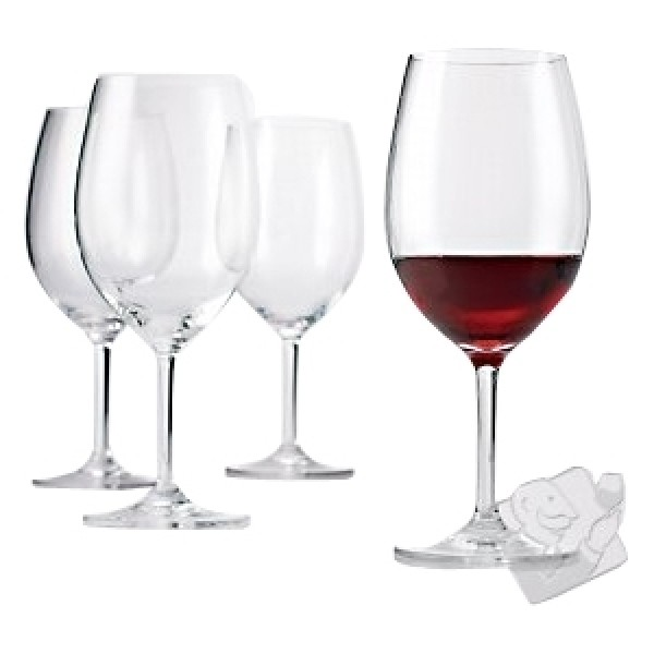 Wine Enthusiast Break-Free PolyCarb Cabernet / Merlot Wine Glasses (Set of 4)