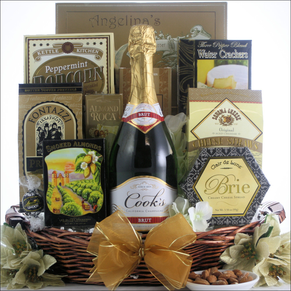 cook 39 s california champagne champagne gift basket