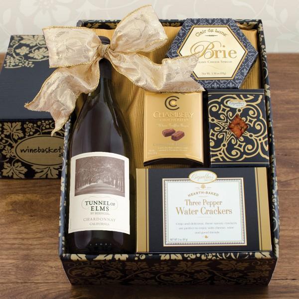 White Wine Snack Box