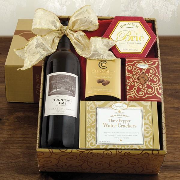 Red Wine Snack Box